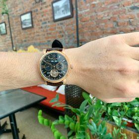 Đồng hồ nam Patek Philipe vỏ vàng mặt đen lộ Openheart giá sỉ