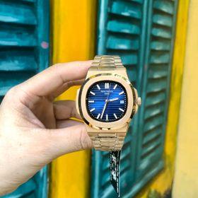 Đồng hồ Patek Philipe vỏ vàng Gold mặt xanh giá sỉ