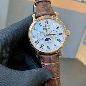 Đồng hồ Patek Philipe vỏ vàng mặt trắng cao cấp giá sỉ