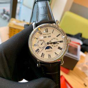 Đồng hồ nam Patke Philippe vỏ trắng mặt trắng giá sỉ