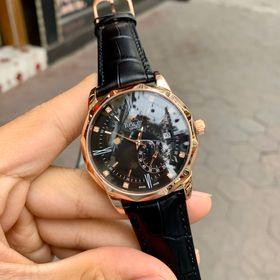 Đồng hồ Rolexx vát cạnh vỏ vàng mặt đen giá sỉ