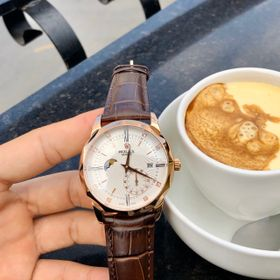 Đồng hồ Rolexx vát cạnh vỏ vàng mặt trắng giá sỉ