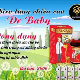 Dr Baby Siro giúp bé tăng chiều cao bô sung canxi giá sỉ