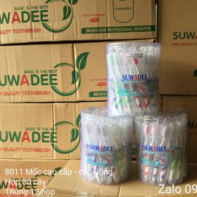 Bàn chải cao cấp SUWADEE,mẫu 8011 tròn,cán Rồng giá sỉ