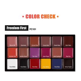 Bảng Son Jcat Freedom Lip Palette 16g giá sỉ