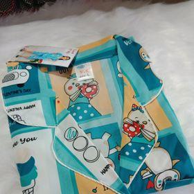 Bộ pijama lửng chất lụa Thái cao cấp giá sỉ