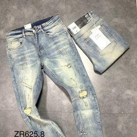 Quần Skinny Jean Zipper Cao Cấp giá sỉ