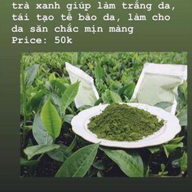 Bột trà xanh giá sỉ