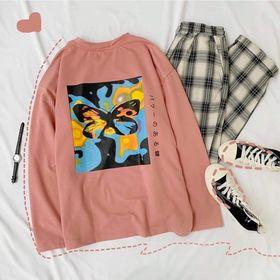 o Sweater in con bướm mới về giá sỉ