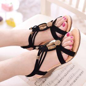 Giày sandal xỏ ngón đế xuồng giá sỉ