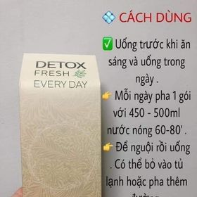 Giảm cân Detox Fresh giá sỉ