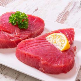 Cá ngừ cắt lát đông lạnh / Frozen co tuna steak - Size 100-120gr giá sỉ