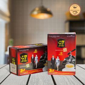 Cà phê hòa tan G7 3in1 hộp 18 gói Trung Nguyên giá sỉ