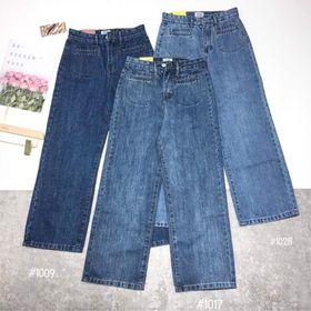 Quần jeans xuông cạp cúc sml giá sỉ