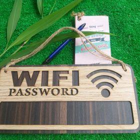Bảng Ghi Mật Khẩu Wifi Tiện Dụng (20 x 10 cm) giá sỉ