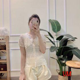 Sét áo ren + quần voan kính free size giá sỉ