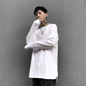 Áo Long Tee tay dày trơn, lai bầu xỏ ngón, giá sỉ, giá bán buôn giá sỉ