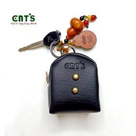 Ví Móc khóa balo phồng mini CNT MK04 xinh xắn ĐEN giá sỉ