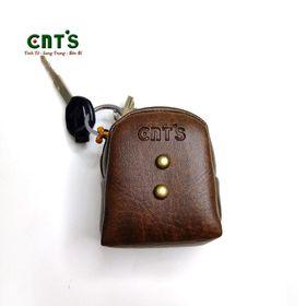 Ví Móc khóa balo phồng mini CNT MK04 xinh xắn NÂU giá sỉ