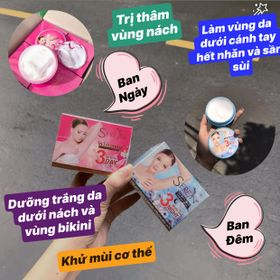 Kem Trị Thâm Nách 3DAY Thái Lan - không ngại mang áo ngắn nữa nhé các nàng giá sỉ