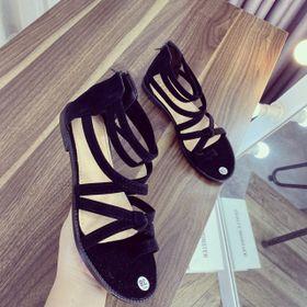 Giày sandal dây kéo dài giá sỉ