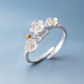 Nhẫn cánh hoa siêu đẹp lv33 giá sỉ