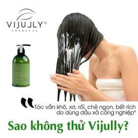 [ 100% ]Dầu Xả Dừa Hoa Cúc Vijully Phục Hồi Tóc Hư Tổn giá sỉ