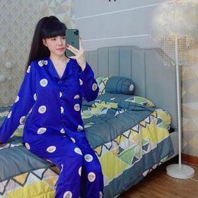 đồ bộ satin tay dài nữ cao cấp giá sỉ