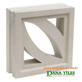 Gạch bông gió Danatiles DANA-D01 trắng giá sỉ