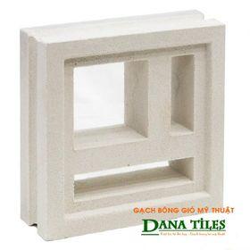 Gạch bông gió Danatiles DANA-D02 trắng giá sỉ