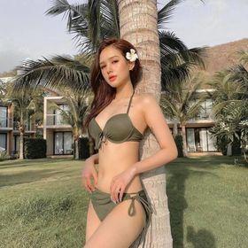 Bikini Nữ Hai Mảnh Quần Tam Giác Freesize Bin Sports BHV045 giá sỉ