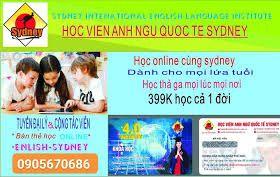 Thẻ học tiếng anh online. Học Viện Anh Ngữ Sydney. Giá siêu tốt. giá sỉ