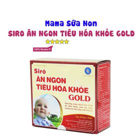Siro Ăn Ngon, Tiêu Hóa Khỏe Gold (20 ống) giá sỉ