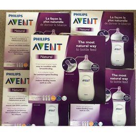 Set 3 bình sữa Avent Natural 330ml giá sỉ