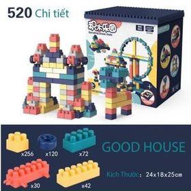 Bộ Lego xếp hình 520 chi tiết giá sỉ