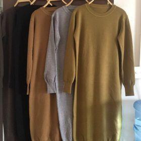Váy len dài tay giá sỉ