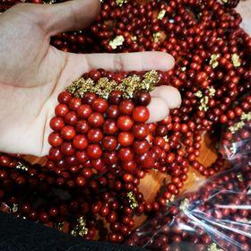 Vòng tay gỗ hương đỏ quà tặng giá sỉ