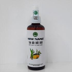 Chai xịt tinh dầu đuổi muỗi hương Chanh Sả thơm ấm Nano Bạc giá sỉ