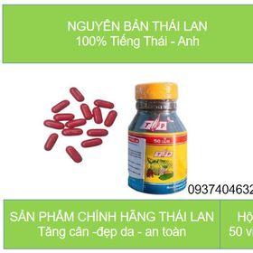 vitamin tăng cân tp thái lan giá sỉ