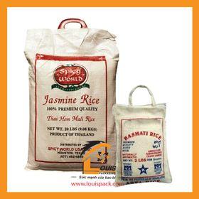 Bao PP dệt đựng gạo, thức ăn gia súc 25kg giá sỉ
