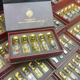 Set tinh dầu Dubai 5 chai giá sỉ