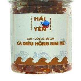 Hộp 210 gram Khô cá điêu hồng rim me vị cay - Thực phẩm Hải Yến giá sỉ