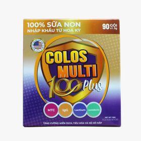 Mama Sữa Non Colos Multi 100 Plus Hộp 90 gói - Date mới - Chiết khấu cao giá sỉ