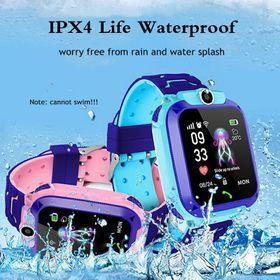 Đồng hồ định vị trẻ em chống nước Q12 màn hình cảm ứng tích hợp camera chụp hình nghe gọi thông minh như điện thoại giá sỉ