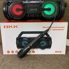 Loa Bluetooth BKK B98 kèm mich hát có lỗ usb và thẻ nhớ giá sỉ
