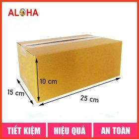 Hộp carton gói hàng size 25x15x10 giá sỉ