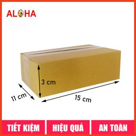 Hộp carton size 15x11x3 giá sỉ
