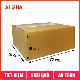 Hộp carton gói hàng size 25x20x10 giá sỉ