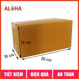Hộp carton size 20x10x10 giá sỉ