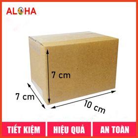 Hộp carton size 10x7x7 giá sỉ